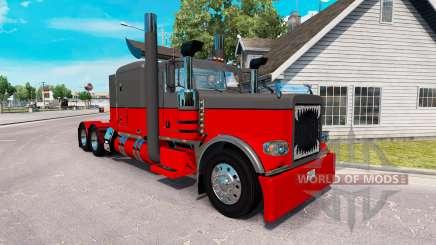 Скин Hot rod на тягач Peterbilt 389 для American Truck Simulator