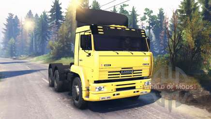 КамАЗ-6460 v2.0 для Spin Tires