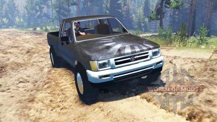 Toyota Hilux Xtra Cab 1993 для Spin Tires