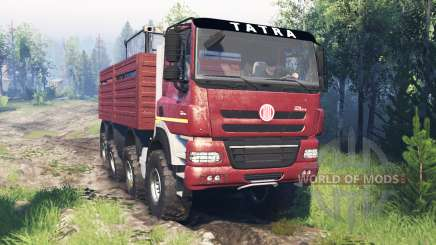 Tatra Phoenix T 158 8x8 v7.0 для Spin Tires
