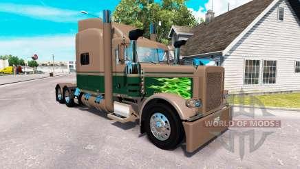 Скин Ken & Barb Workhorse Show на Peterbilt 389 для American Truck Simulator