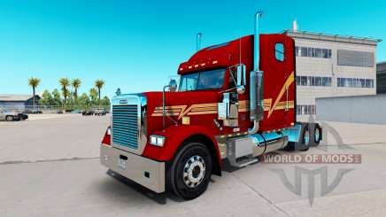 Скин Beggett на тягач Freightliner Classic XL для American Truck Simulator