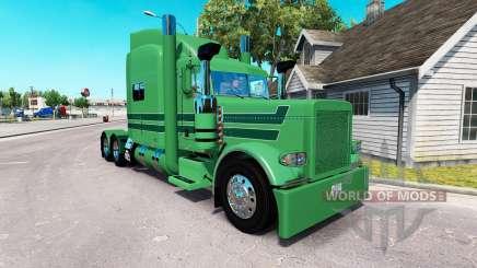 Скин A. J. Lopez Trucking на тягач Peterbilt 389 для American Truck Simulator