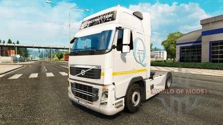 Скин Q-Meieriet на тягач Volvo для Euro Truck Simulator 2
