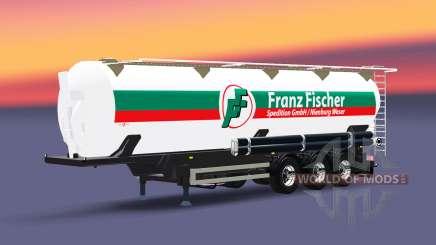 Полуприцеп-цистерна Franz Fischer для Euro Truck Simulator 2