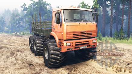 КамАЗ-6522 Монстр для Spin Tires