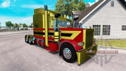 Скин Metallic 7 на тягач Peterbilt 389 для American Truck Simulator