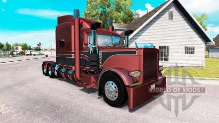 Скин Metallic на тягач Peterbilt 389 для American Truck Simulator