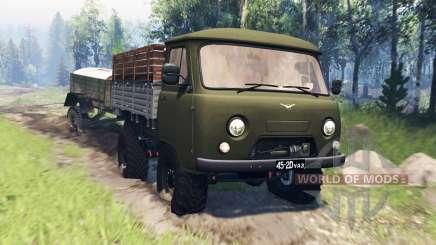 УАЗ-452Д v4.0 для Spin Tires