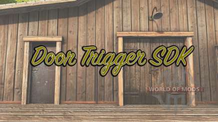 Door Trigger SDK для Farming Simulator 2017