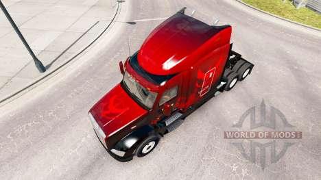 Скин Valor на тягач Peterbilt 579 для American Truck Simulator
