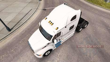 Скин Raven на тягач Peterbilt 387 для American Truck Simulator