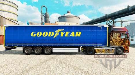 Скин Good Year на полуприцепы для Euro Truck Simulator 2