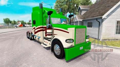 Скин Maverick Transportation на Peterbilt 389 для American Truck Simulator