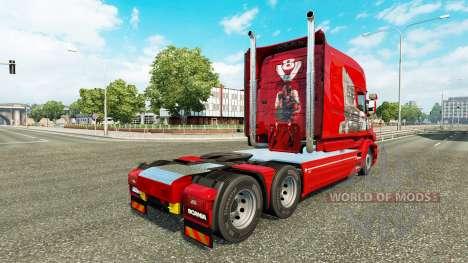 Скин Scania History на тягач Scania T для Euro Truck Simulator 2