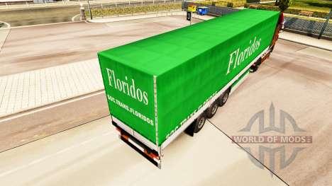 Скин Floridos на полуприцепы для Euro Truck Simulator 2