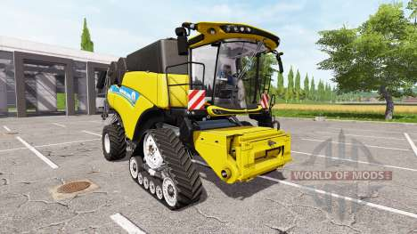 New Holland CR10.90 multicolor v2.0 для Farming Simulator 2017