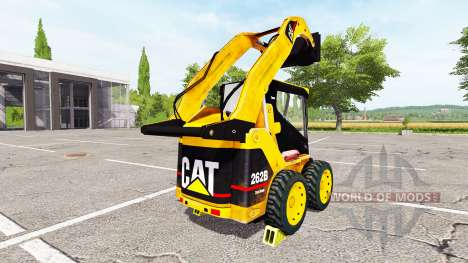 Caterpillar 262B для Farming Simulator 2017