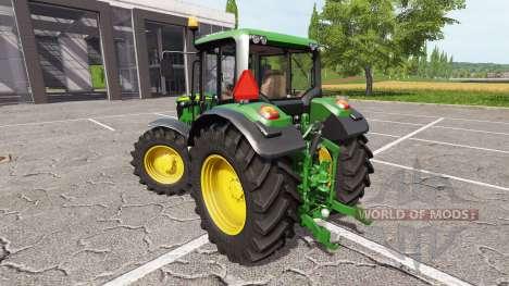 John Deere 6115M для Farming Simulator 2017