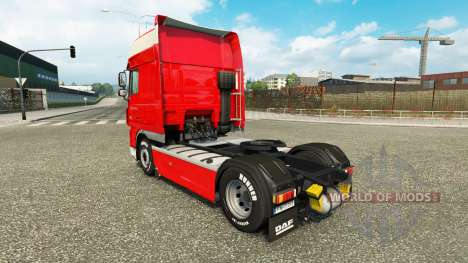 Скин Peter Appel на тягач DAF для Euro Truck Simulator 2