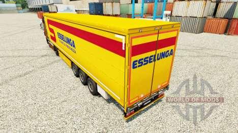 Скин Esselunga S.p.A. на полуприцепы для Euro Truck Simulator 2
