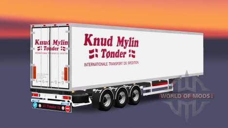 Полуприцеп-рефрижератор Narko Knuy Mylin для Euro Truck Simulator 2