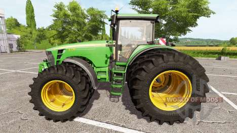 John Deere 8130 v2.0 для Farming Simulator 2017