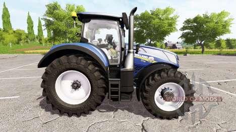 New Holland T7.315 blue power для Farming Simulator 2017