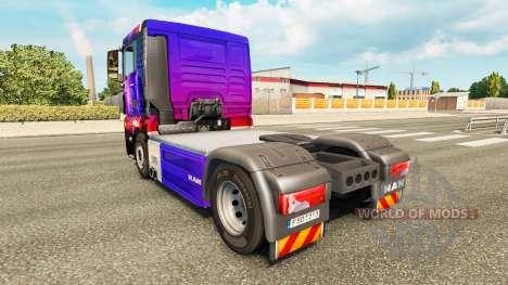 Скин Storm на тягач MAN для Euro Truck Simulator 2