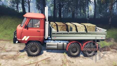 УАЗ-33036 6x6 v3.0 для Spin Tires