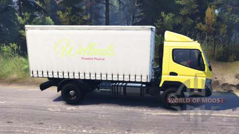 Mitsubishi Fuso Canter (FE7) для Spin Tires