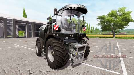 Krone BiG X 580 limited edition для Farming Simulator 2017