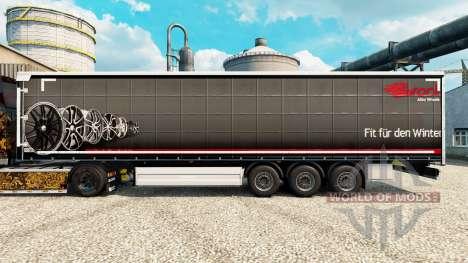Скин Brock на полуприцепы для Euro Truck Simulator 2