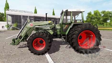 Fendt Farmer 312 LSA Turbomatik v1.0.1 для Farming Simulator 2017