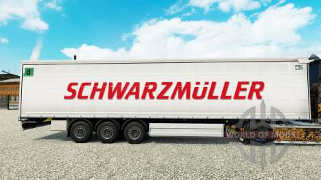 Скин Schwarzmuller на шторный полуприцеп для Euro Truck Simulator 2