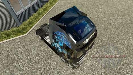 Скин Magic Moments на тягач Volvo для Euro Truck Simulator 2