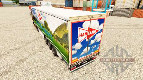 Скин Han Sano на полуприцепы для Euro Truck Simulator 2