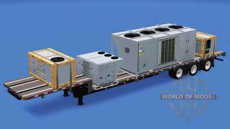 Сборник полуприцепов v1.2.1 для American Truck Simulator