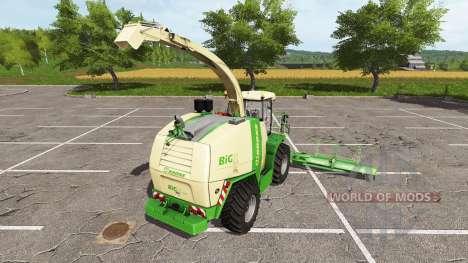 Krone BiG X 1100 v1.0.0.1 для Farming Simulator 2017