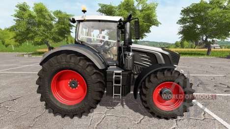 Fendt 948 Vario black edition v1.4 для Farming Simulator 2017