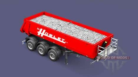 Полуприцеп-самосвал Schmitz Cargobull Hoslet для Euro Truck Simulator 2