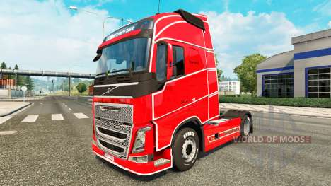 Скин Simple на тягач Volvo для Euro Truck Simulator 2