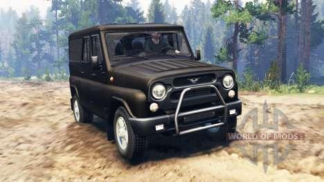 УАЗ-3153 для Spin Tires