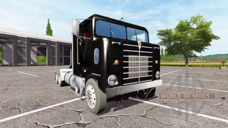 Kenworth BullNose для Farming Simulator 2017