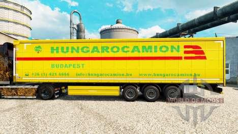 Скин Hungarocamion на полуприцепы для Euro Truck Simulator 2
