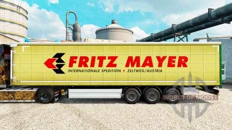 Скин Fritz Mayer на полуприцепы для Euro Truck Simulator 2