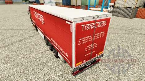 Скин TransCargo на полуприцепы для Euro Truck Simulator 2