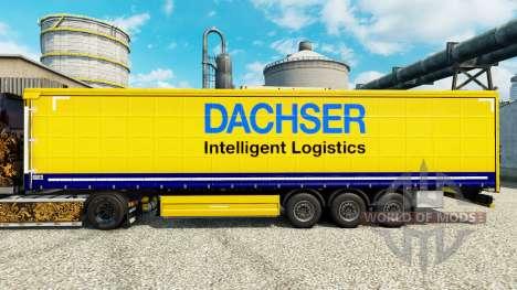 Скин Dachser на полуприцепы для Euro Truck Simulator 2