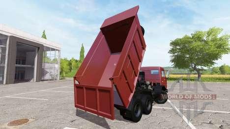 КАМАЗ-65115 для Farming Simulator 2017
