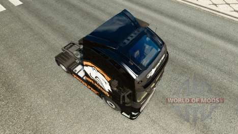 Скин Virtus.pro на тягач Volvo для Euro Truck Simulator 2